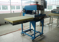 Terbaik Ganda Lokasi Flatbed Tekstil Heat Transfer Printing Machine Ukuran Besar CE for sale