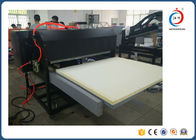 Cina Semi Automatic Large Format Heat Press Machine Dengan Dual Station / Double Silinder distributor